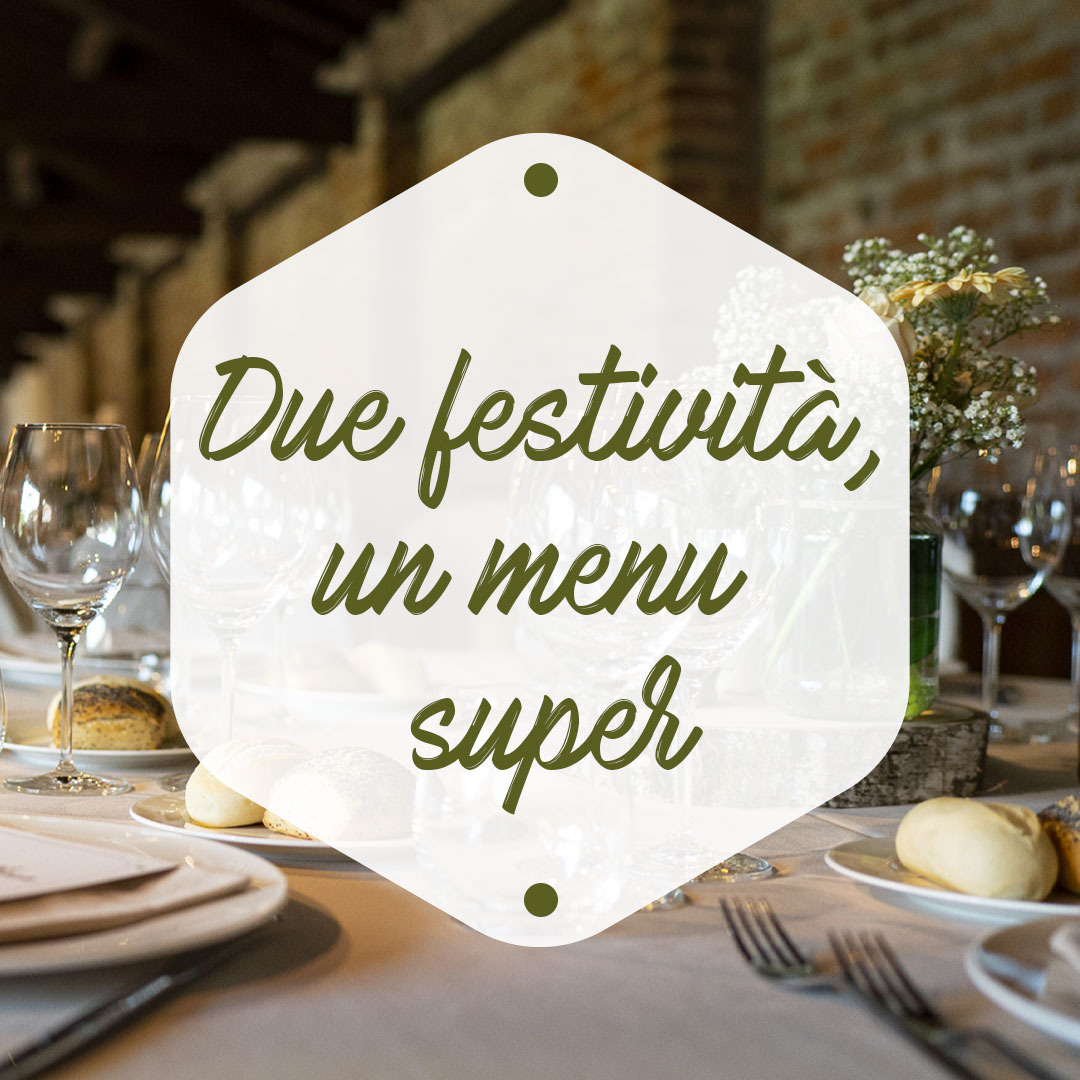 Due festività un-menu super